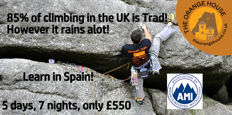 Learn how to Trad Climb @ The Orange House