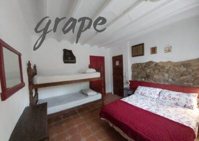 Grape, ground floor, ensuite